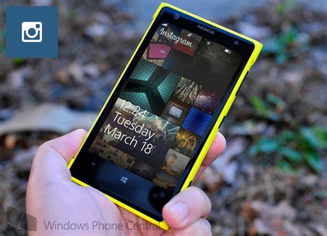 full version of instagram for windows phone instagram for windows phone finally adds lock screen
