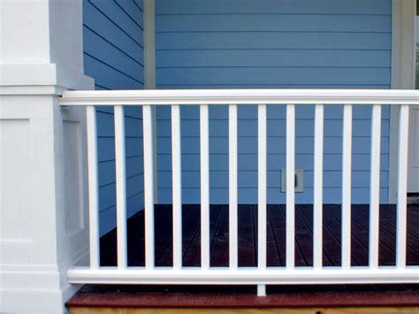 How to Install a Porch Railing   HGTV