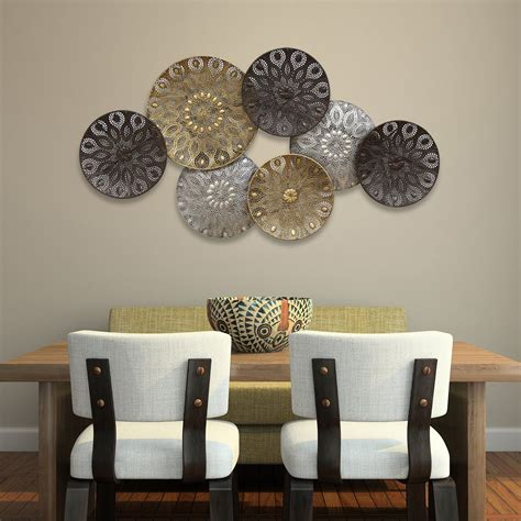 wall home decor boho metal plates wall decor stratton home decor