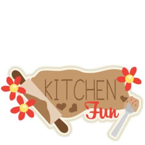 kitchen titles kitchen fun title svg scrapbook cut file cute clipart