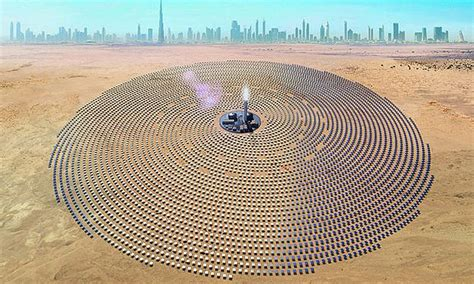 Worlds Largest Planter by World S Largest Solar Power Plant Develops At Speed
