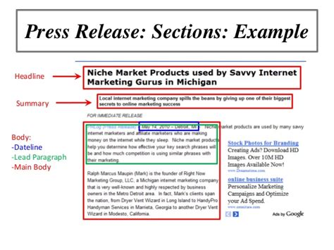 Online Marketing Workshop: Using Press Releases to Promote