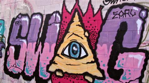 illuminati hip hop graffiti hiphop eater illuminatis walldevil