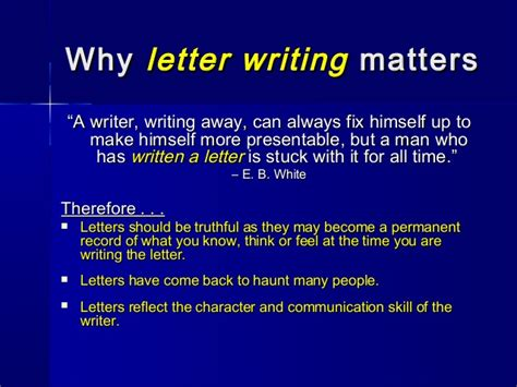 Acknowledgement Letter Ppt Letterwriting Ppt