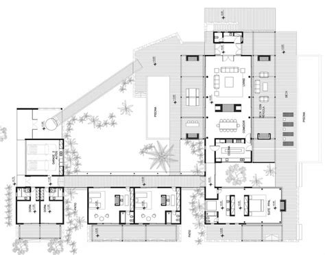 modern design floor plans modern house plan 968 decoration ideas