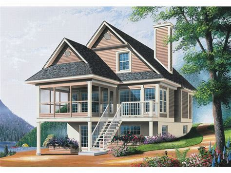 waterfront house plans coastal house plans waterfront homes house plans lakeside cottage plans treesranch