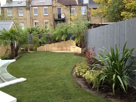 backyard layout low maintenance garden designs garden club london
