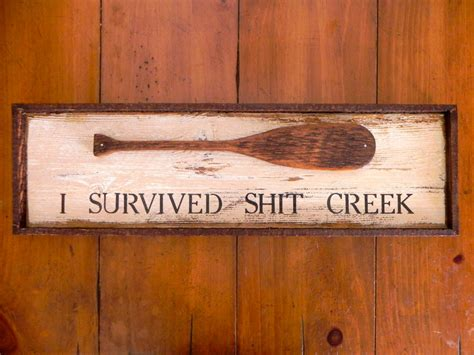 wooden sign bar sign humorous handmade home by