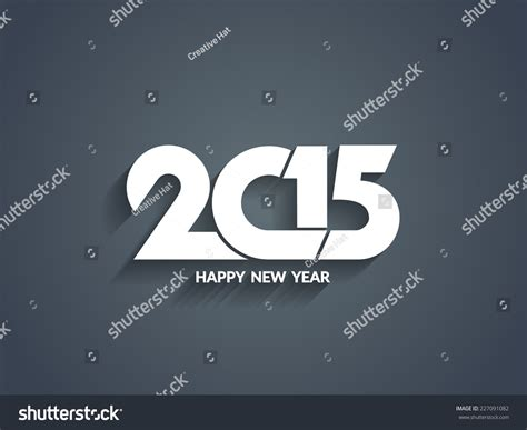 beautiful happy new year design beautiful vector happy new year 2015 text design