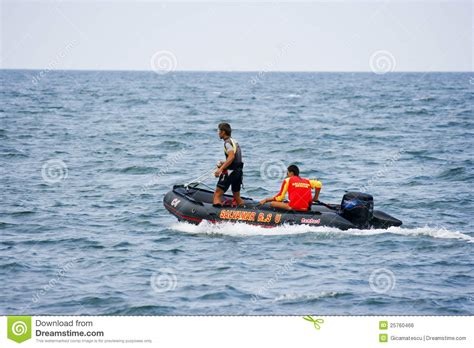 inflatable boats durban lifeguard rescue inflatable boat beach editorial image