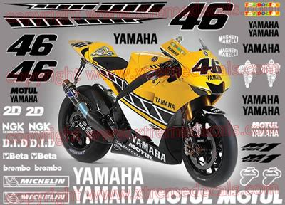 Racing Sticker Placement by High Quality Motorbike And Sportsbike Decals