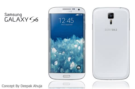 Samsung S6 New samsung galaxy s6 new render feels familiar reminds me of the galaxy s4 concept phones