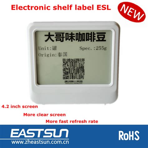 Electronic Shelf Label by Eink Pricer Electronic Shelf Label Buy Eink Electronic