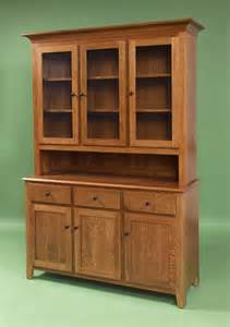amish 55 quot shaker hutch
