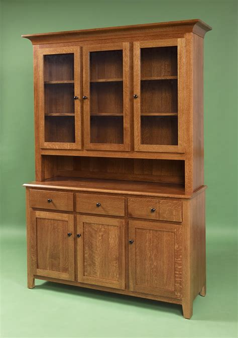 Handmade Hutches - heirloom shaker hutch