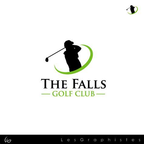 design a golf logo golf club logo design the falls golf club logo design