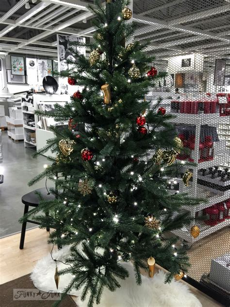 ikea christmas trees real orlando what my vintage rustic eye at ikeafunky junk interiors