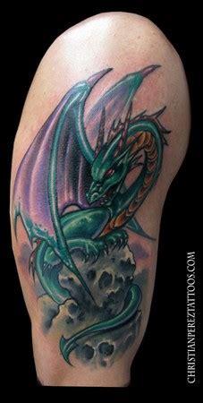 new school dragon tattoo image gallery new school dragon tattoo
