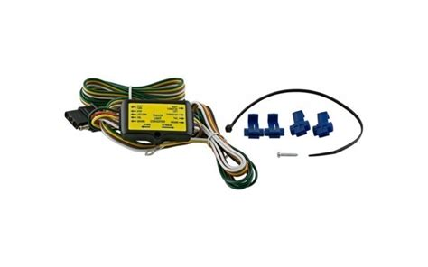 trailer wire harness converter 5 to 4 wire complete kit