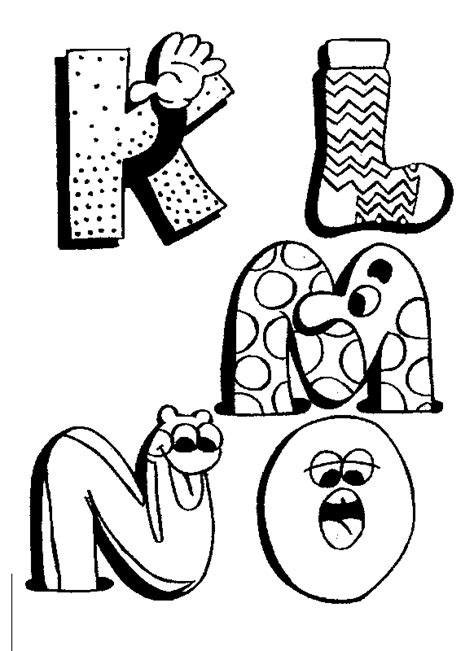 Fun Coloring Pages Alphabet Coloring Pages Alphabet Letters Coloring Pages