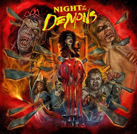 night of the demons 1988 the horrors of halloween night of the demons 1988