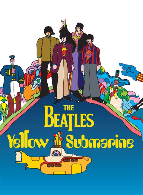 kaos musik the beatles yellow submarine yellow submarine feature restored for june release
