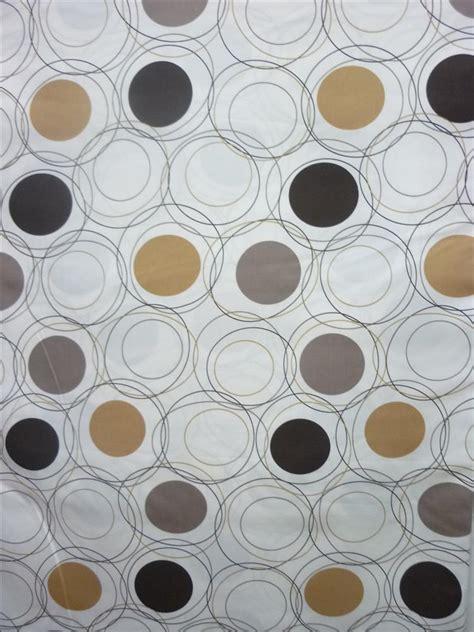vorhang grau beige deko stoff gardine vorhang raumhoch abstrakte kreise