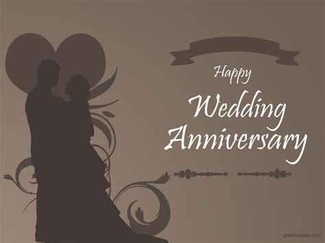 Minimal Wedding Anniversary Cards Templates Vector by Happy Wedding Anniversary Beautiful Greeting Graphicsplay