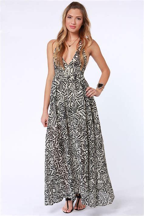 Maxi Slavina Dress Batik billabong let s get away dress print dress maxi dress 59 50