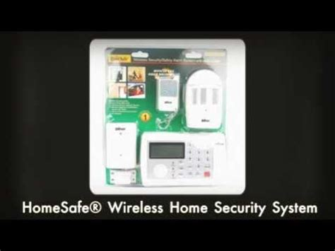 homesafe 174 wireless home security system