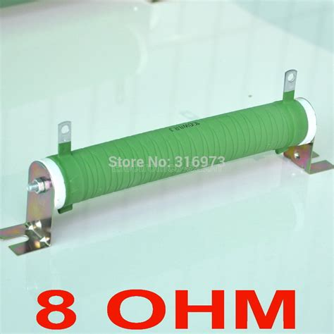 an 8 ohm resistor is dissipating 100 watts buy wholesale 100 watt resistor from china 100 watt resistor wholesalers aliexpress