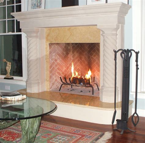 Fireplace Mantels Dallas by Cast Fireplace Mantel Traditional