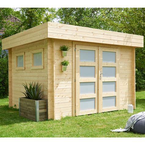 Ordinaire Abri De Jardin En Bois Toit Plat #2: 35865-abri-de-jardin-bois-kivik-952-m2-ep-28-mm-toit-plat.jpg