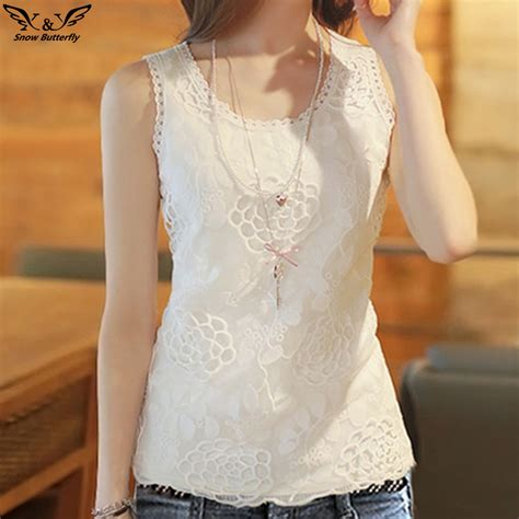 Frii Top Blouse White 2017 high quality summer cotton blouse shirt sleeveless white top blouses shirts