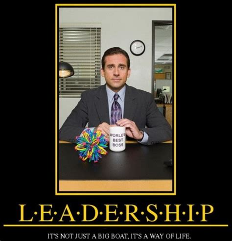 Leadership Memes - funny leadership quotes from the office image quotes at