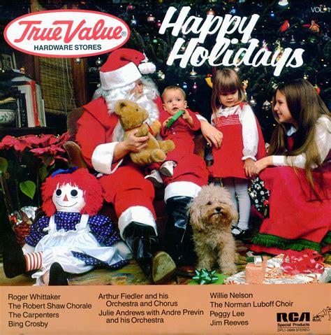 true  happy holidays volume  dpl christmas vinyl record lp albums  cd  mp