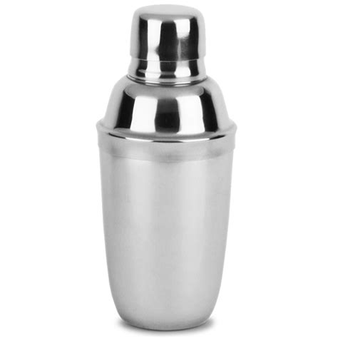stainless steel mini cocktail shaker 10oz cobbler