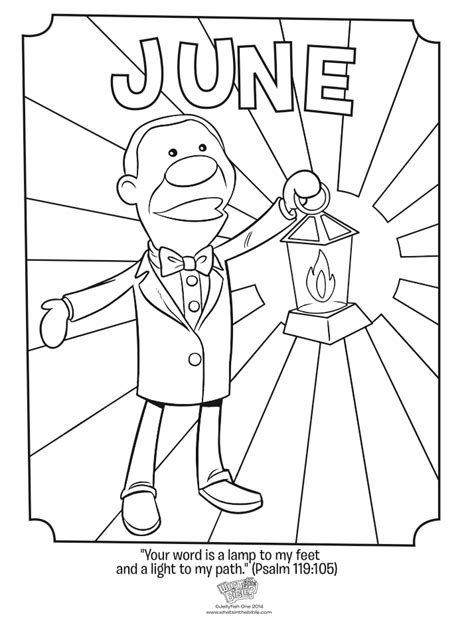 coloring pages for june june coloring page psalm 119 105 whats in the bible