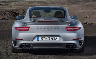 Porsche 911 Turbo 2014 2014 Porsche 911 Turbo S Rear End Photo 5