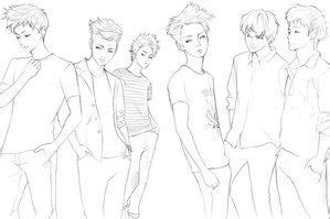 exo chibi coloring pages exo deviantart and chibi on pinterest