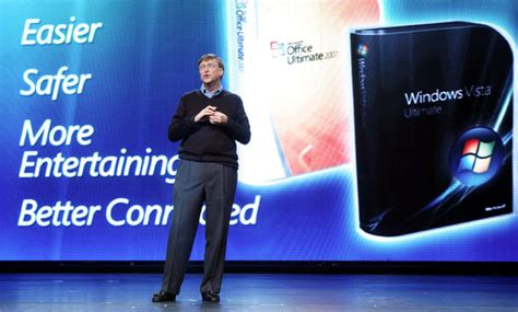 Windows Vista Launch Bill Gates Speech The One Where Gets It On With Bill by Windows Vista End Of Is Here What To Do If You Re