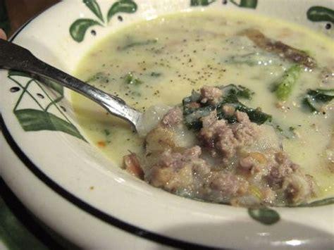 olive garden zuppa toscana calories