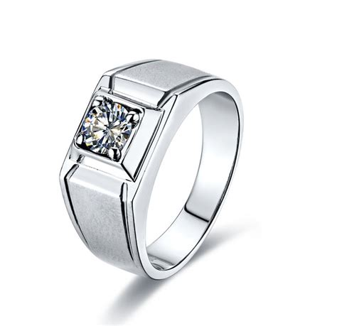 Cincin Cz Jewelry 925 Silver Wedding Flower Engagement compare prices on moissanite engagement rings