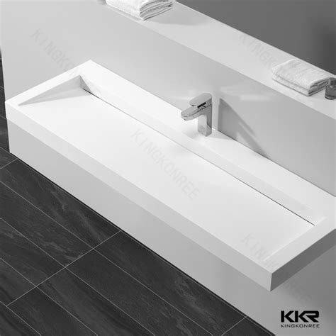 narrow bathroom sink solid surface corner bathroom sink narrow wash sink