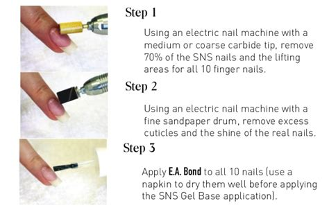 how to remove sns from your nails nail ftempo