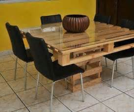 Wood Pallet Dining Table Dining Table Pallet Dining Table