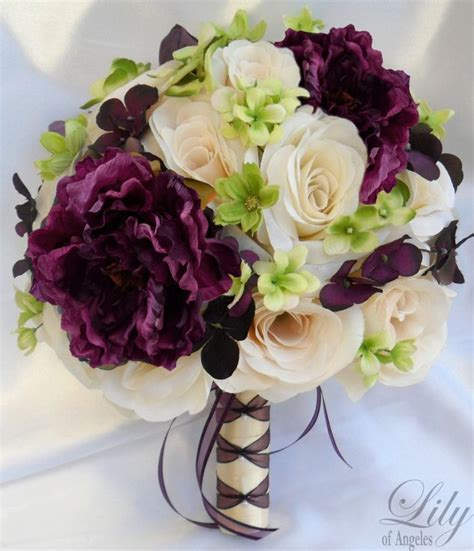 Pre Made Bridesmaid Bouquets by Pre Made Silk Wedding Bouquets Wedding And Bridal