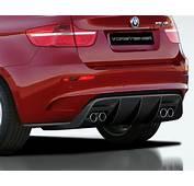 Vorsteiner V RS Aero Carbon Fiber Rear Diffuser BMW X6 M 09 12
