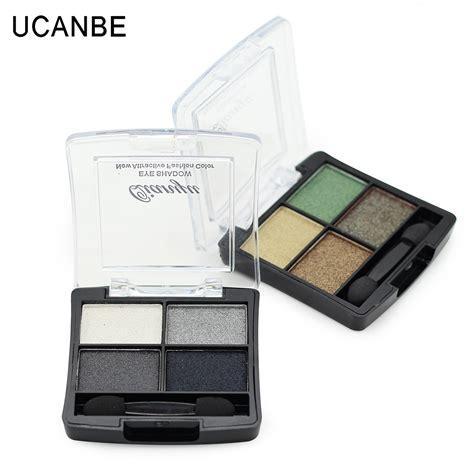 3 Eyeshadow 4 Warna 3 Eyeshadow Mini 4 Colour ucanbe eye shadow 4 warna no 3 pearl color