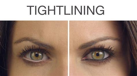 tutorial eyeliner tightline tightlining techniques white versus black eyeliner ulta
